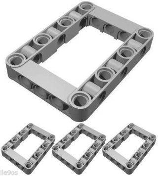 X4 Lego Beam Frames (technic,  Mindstorms,  Robot,  Nxt,  Ev3,  Liftarm,  Structure,  Chassis)