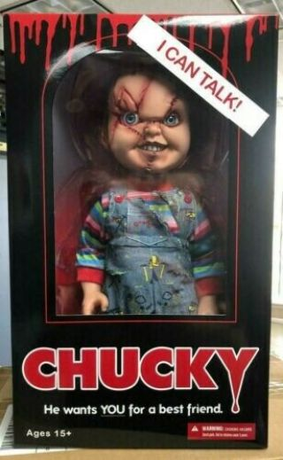 Good Guys Evil Chucky Doll 15 Inches Talking Doll The Seed Of Chucky Doll