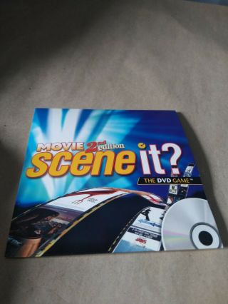 Mattel Premiere Movie Scene It? Replacement Dvd Only 2nd Edition Trivia Game