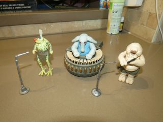 Star Wars Sy Snootles Rebo Band Complete Rotj Jedi Kenner