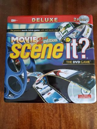 Scene It? Deluxe Movie 2nd Edition The Dvd Game Compete (a10)