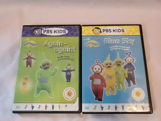 Pre Owned Teletubbies Dvds Again Again And Blue Sky