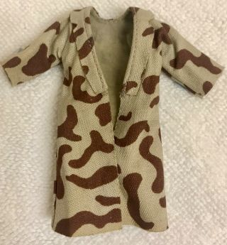 Star Wars Vintage Han Solo Camouflage Trench Coat With Camo Lapels.  Near