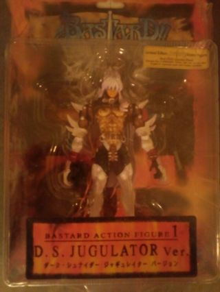 1992 Bastard Limited Edition Combo Pack With Dvd,  D.  S Jugulator Figure 1