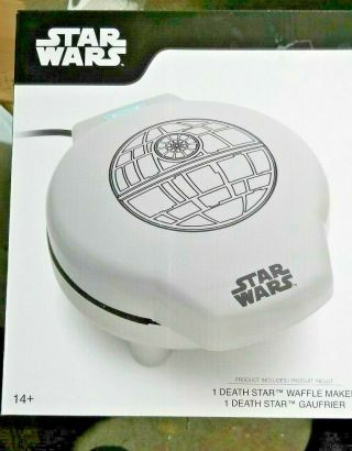 Star Wars Death Star Cuisinart Think Geek Waffle Maker