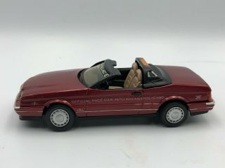 1:43 Hand Built Highway Travelers 1993 Cadillac Allante Indy Pace Car V105