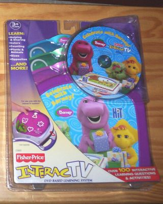 Fisher Price Interactv Interactive Dvd Celebrate With Barney