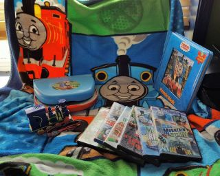 Thomas The Tank Engine Leader Of The Track Laptop,  Dvds,  Puzzle Book And More