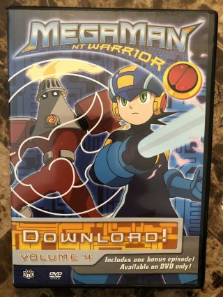 Mega Man Nt Warrior Download Volume 4 Dvd