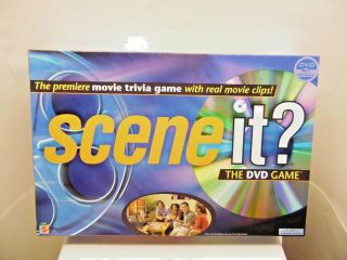 Scene It Movie Trivia Game Complete Matel Dvd 13,  Years 2 Or More Player Xg4