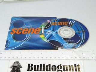 2003 Scene It Dvd Board Game Replacement Dvd W/ Case Only Mattel