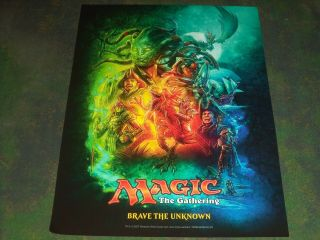 Ixalan Brave The Unknown Magic The Gathering Mtg Art Promo Poster Print Artwork