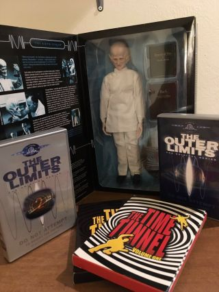 Outer Limits Sixth Finger By Sideshow Plus Ol And Time Tunnel Dvds