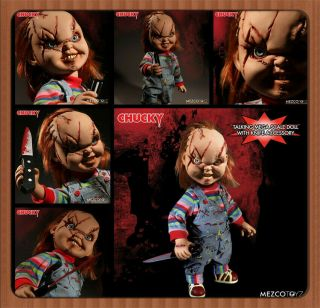 Pre - Order Mezco Toyz Ant 15 Inch Huge Can Vocalization Seed Of Chucky Dolls