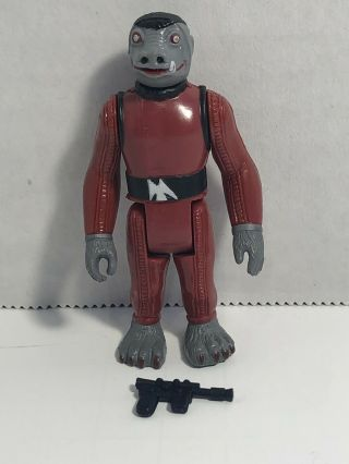 Vintage Star Wars 1978 Kenner Red Snaggletooth Complete Loose Hong Kong