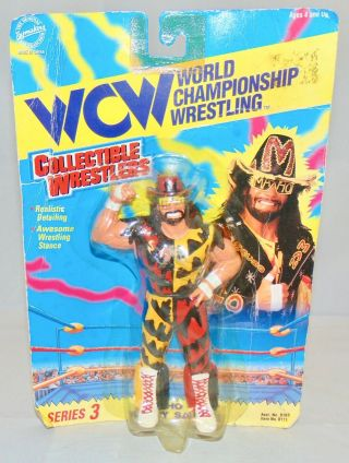 Wcw Collectible Wrestlers Macho Man Randy Savage Action Figure