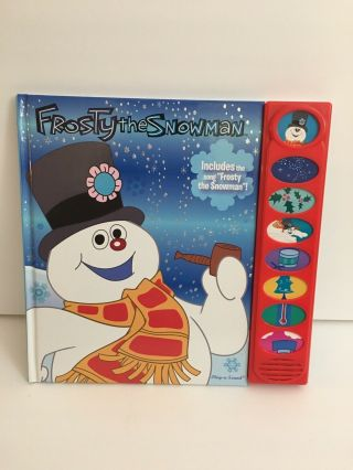 Frosty The Snowman Gift Set Play Sound Book Dvd And Plush