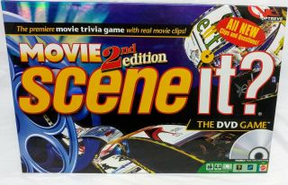 Scene It? 2nd Edition The Movie Dvd Game