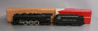 American Flyer S Postwar Hudson Locomotive 21129 And York Central Tender [2
