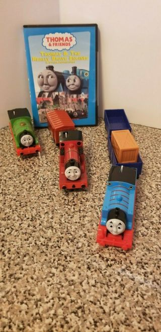 Thomas Trains & Cargo Carriers Also Thomas & Friends Dvd