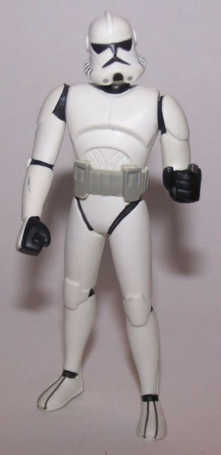 Star Wars Clone Wars Clone Trooper From Animated Series Dvd Set Action Figure