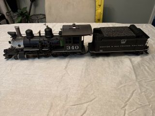 Accucraft C19 D&rgw 340.  1:20.  3 Scale