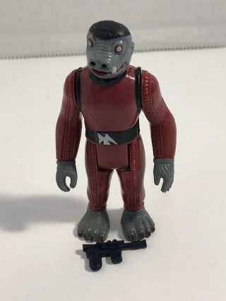 Vintage Star Wars 1978 Kenner Red Snaggletooth Loose Complete Hong Kong