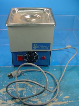 Rs Sonicor Instrument Sc - 50th 1/2 Gallon Desktop Ultrasonic Cleaner W/ Heater