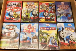 8 Thomas The Train Trackmaster Dvds King Of The Railway Movie Shorts
