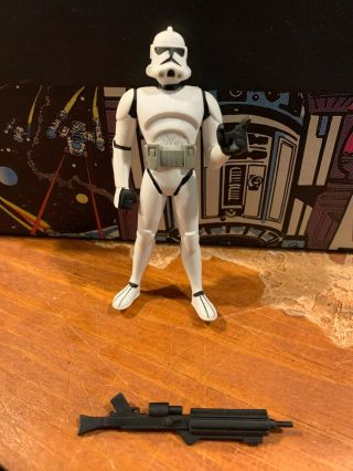 Star Wars The Clone Wars Clone Trooper From Animated Dvd 3 Pack