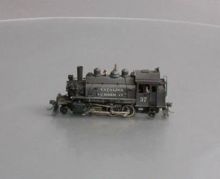 Northwest Short Line Ho Brass 2 - 6 - 2 Baldwin Saddle Tank Locomotive - Painted