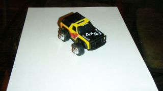 1981 Rough Riders Bronco 4x4 Truck Schaper Stompers Ljn Toy Yellow & Black