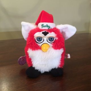 Furby Santa Special Limited Edition 1998 Tiger Electronics