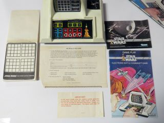 Star Wars Electronic Battle Command Game In Ob W/ Manuals & Packing