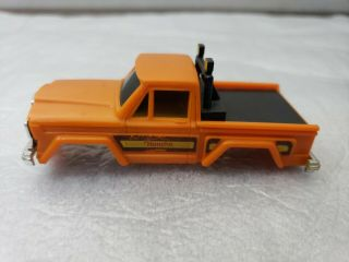 Vintage Schaper Stomper 4x4 Orange Jeep Honcho Body Only