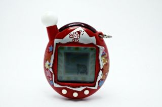 Tamagotchi Entama Cho - Jinsei Red Bandai 2005 Electronic Virtual Pet Tmgc 01