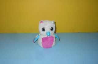 Spin Master Hatchimals Penguala Pink White Bird W/ Blue Beak Wings Light Up