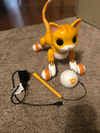 Zoomer Kitty Interactive Robot Orange Cat By Spin Master True Vision Technology