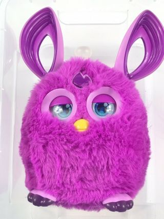 Hasbro Furby Connect Friend Purple Talking Moving Great Interactive Toy