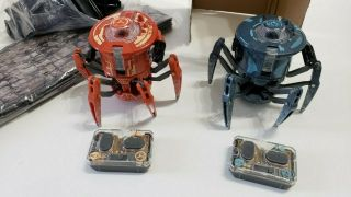 Hexbug Battlebots The Tower Battle Ground Fight With Light Spider Pre - Owned