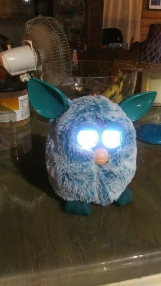 Blue Furby - - Great -.  - (f20)