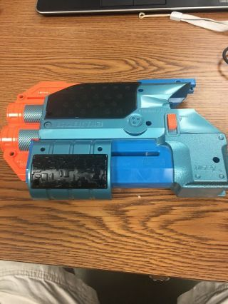 Lazer Tag Phoenix Ltx Shotgun Blast Blue Attachment Nerf Tiger Electronics