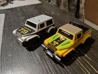 Vintage Schaper Stomper Jeep Renegade And Jeep Scrambler Truck Bodies