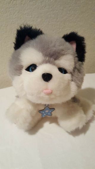 Little Live Pets Frosty My Dream Husky Puppy Dog Interactive Plush Animated