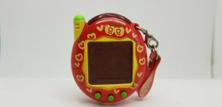 Tamagotchi Ketai Kaithu Apple Red Bandai 2005 Virtual Pet Japan Tmgc 11