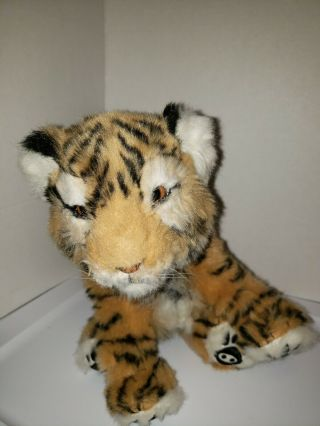Wowwee Bengal Tiger Cub Alive Interactiveplush Robotic Toy Life Like Well