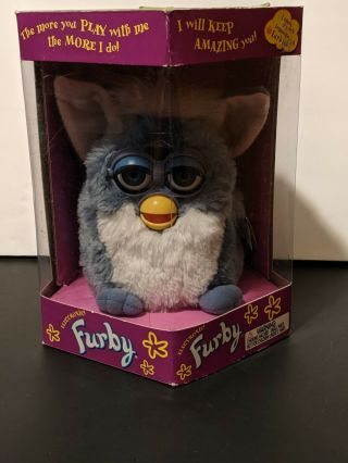 Furby Tiger Electronics 1999 Collectors Quality 2nd Edition 70 - 800.