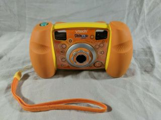 Vtech 1227 Kidizoom Kids Digital Camera Toy 1.  3 Mp 4x Zoom Orange Camera Only
