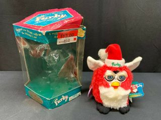 "Electronic Furby ""christmas / Santa"" Special Limited Edition Model 70885"