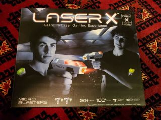 Laser X Two Player Micro Blasters Laser Tag Gaming Set